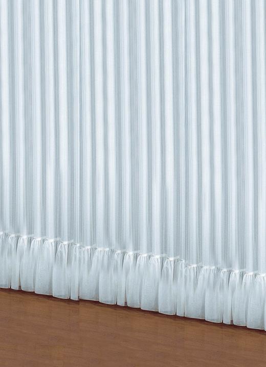 Stilvoller Volant Store Vorhänge Bader