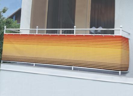 balkon seitensichtschutz wind und sonnenschutz bader. Black Bedroom Furniture Sets. Home Design Ideas
