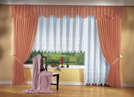 gardinen garnitur vorh nge bader. Black Bedroom Furniture Sets. Home Design Ideas
