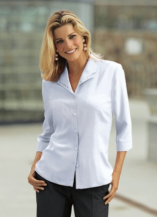 elegante bluse weiss bequem online bestellen bei bader. Black Bedroom Furniture Sets. Home Design Ideas