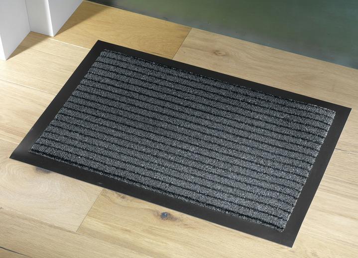 schmutzfangmatten f r innen und au en verschiedene farben fussmatten bader. Black Bedroom Furniture Sets. Home Design Ideas