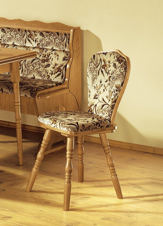 2er set st hle eiche rustikal m bel bader. Black Bedroom Furniture Sets. Home Design Ideas