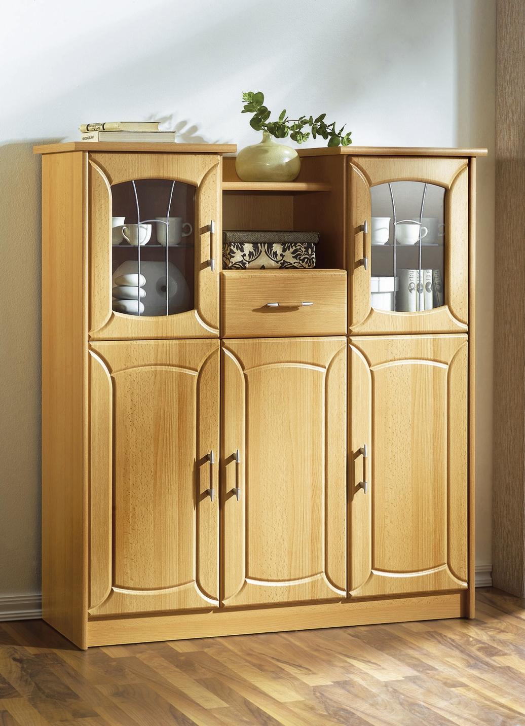 highboard klassische m bel bader. Black Bedroom Furniture Sets. Home Design Ideas
