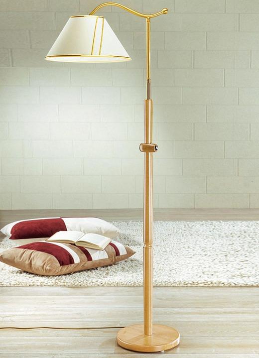 stehleuchte mit schwenkschirm verschiedene farben klassische m bel bader. Black Bedroom Furniture Sets. Home Design Ideas