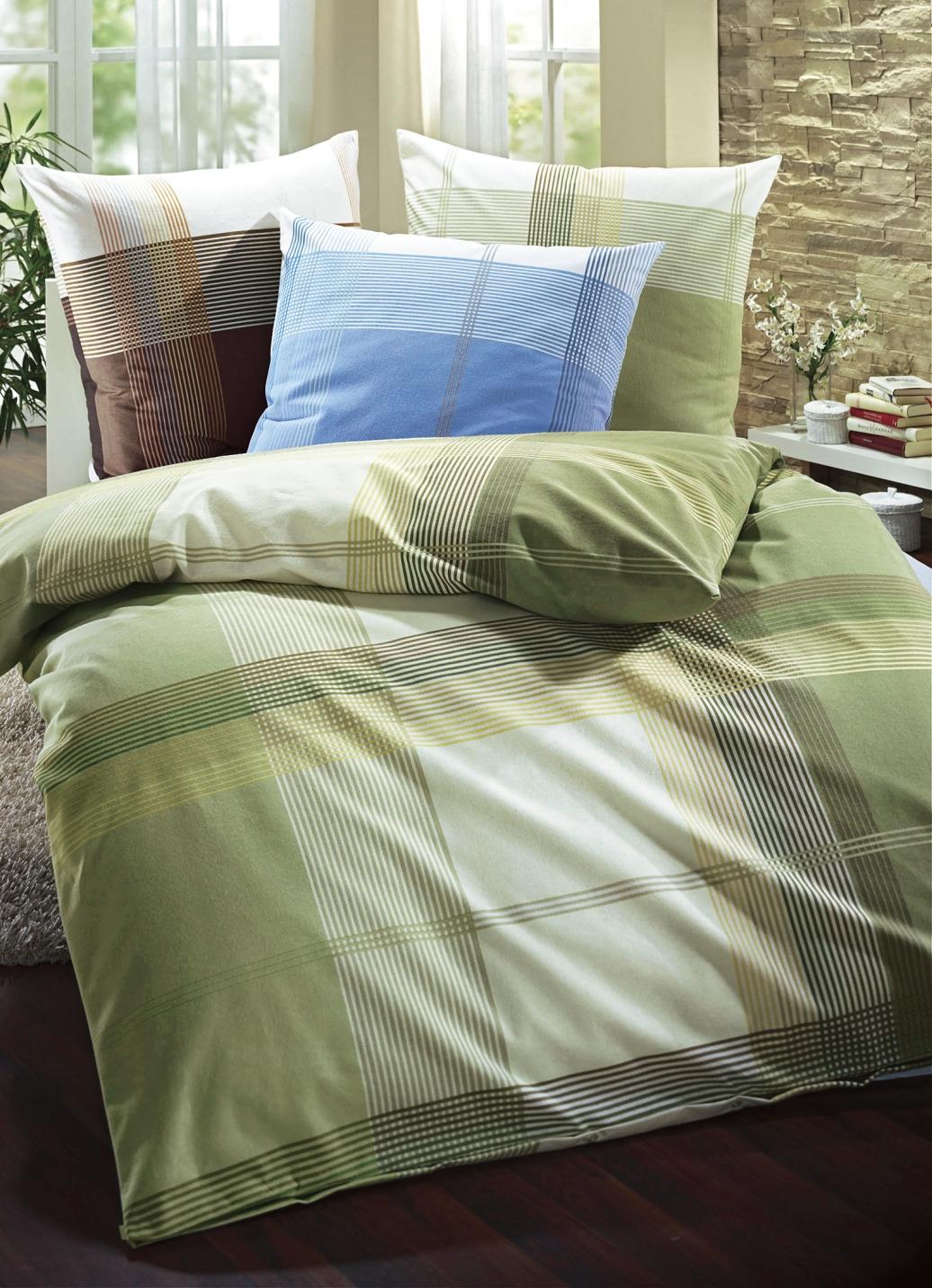 biberna bettw sche garnitur in verschiedenen qualit ten. Black Bedroom Furniture Sets. Home Design Ideas