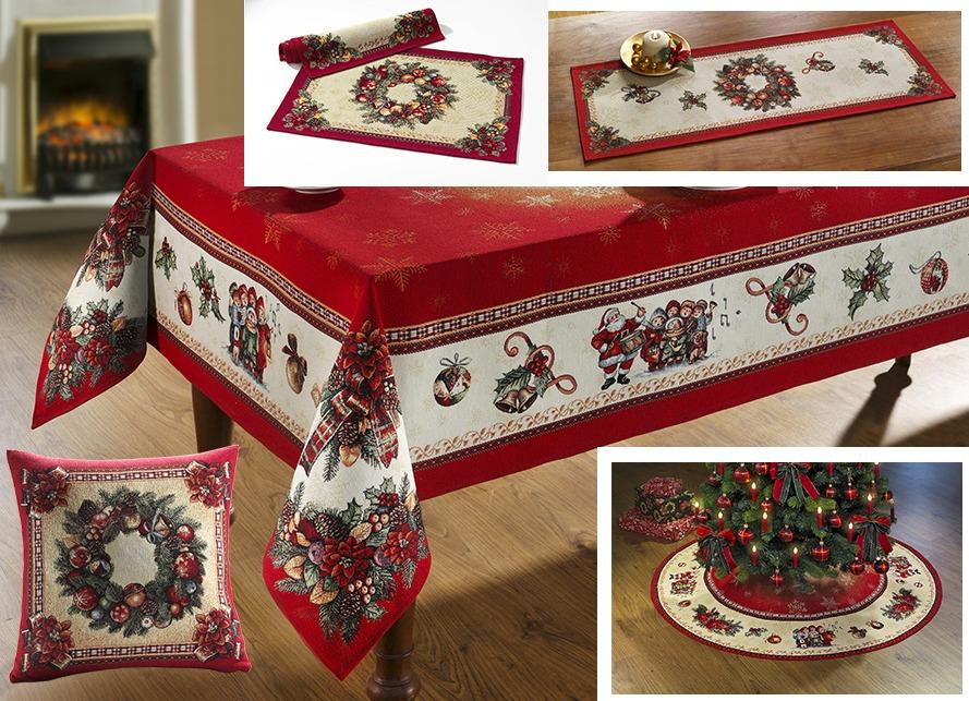 Gobelin tisch und raumdekoration tischdecken bader - Bader weihnachten ...