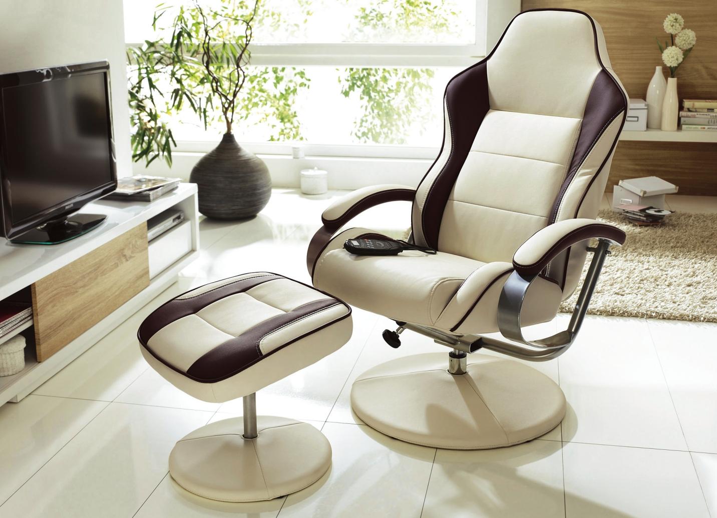 relax sessel mit hocker in verschiedenen ausf hrungen moderne m bel bader. Black Bedroom Furniture Sets. Home Design Ideas