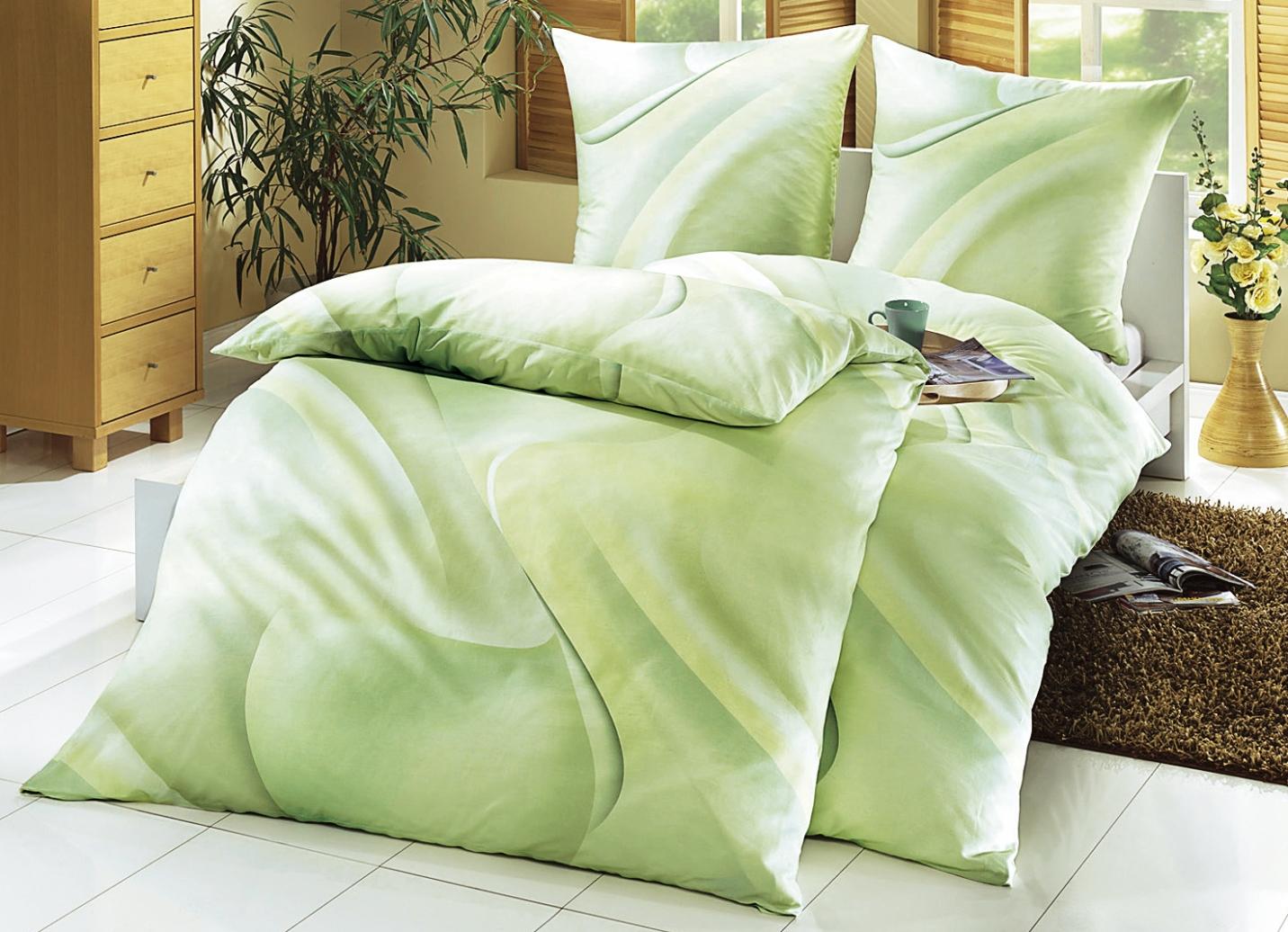 biberna bettw sche garnitur verschiedene farben. Black Bedroom Furniture Sets. Home Design Ideas
