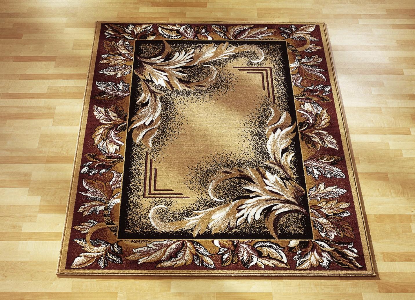 br cken teppiche und bettumrandung mit floralem dessin teppiche bader. Black Bedroom Furniture Sets. Home Design Ideas
