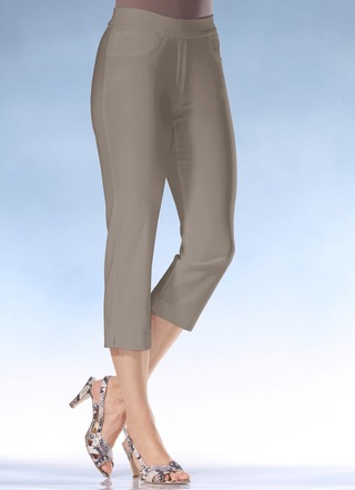 Soft-Stretch-Caprihose in 10 Farben