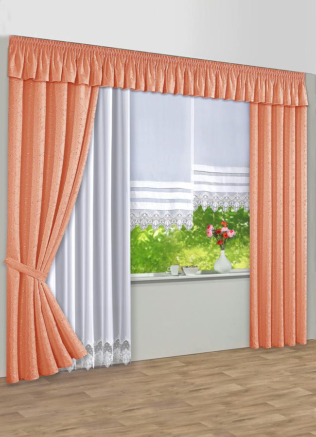 querbehang in verschiedenen farben vorh nge bader. Black Bedroom Furniture Sets. Home Design Ideas