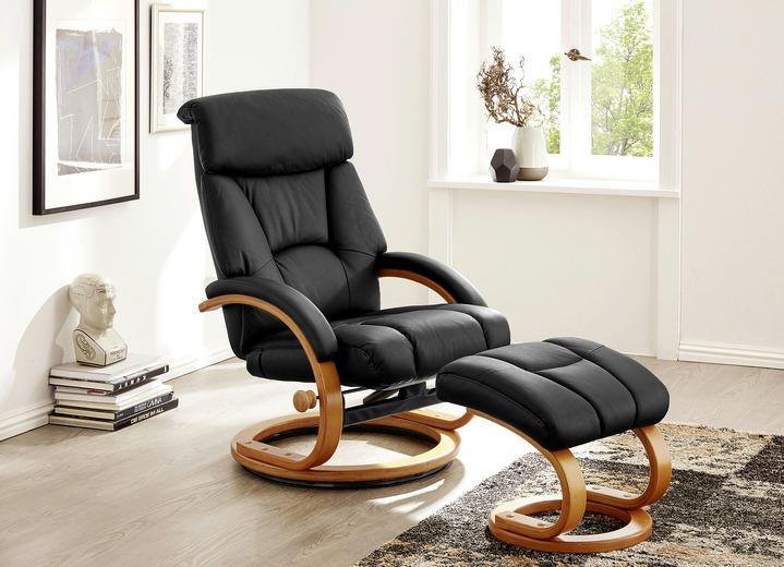Relax-Sessel Mit Hocker - Polstermöbel