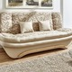 schlafsofa mit dekokissen in verschiedenen farben polsterm bel bader. Black Bedroom Furniture Sets. Home Design Ideas