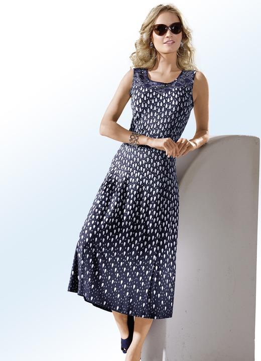 Kleid mit dekorativem h kelspitzen besatz kleider bader - Bader festliche kleider ...