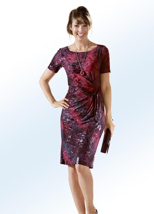Elena Eden Party Kleid Mit Zierband An Der Seitlichen Raffung