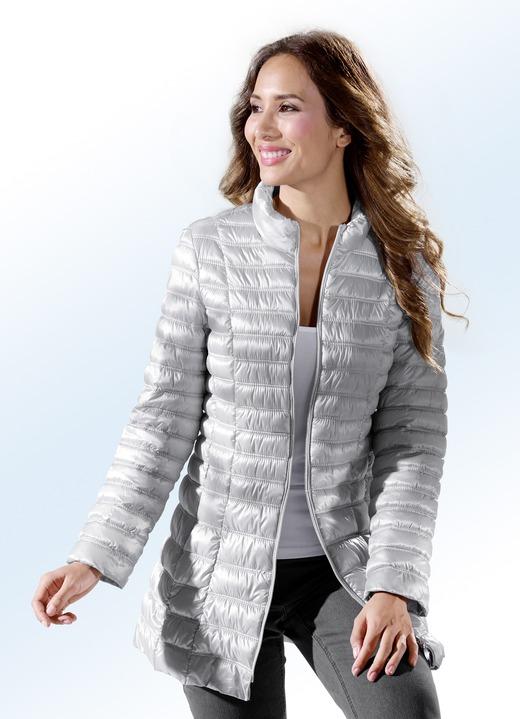 Jacke in 2 farben mit 2 wege reissverschluss jacken - Bader festliche kleider ...