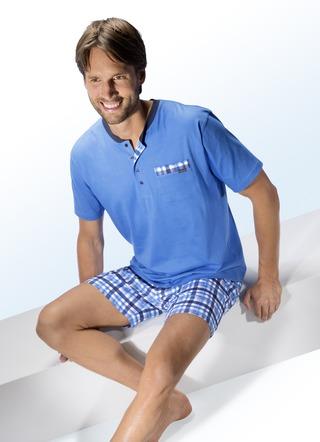a1ed2b2e94 Pyjama kurz für Herren – Nachtmode bequem online kaufen