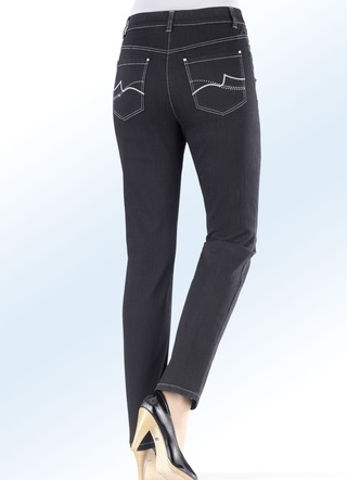 Power-Stretch-Jeans in 6 Farben