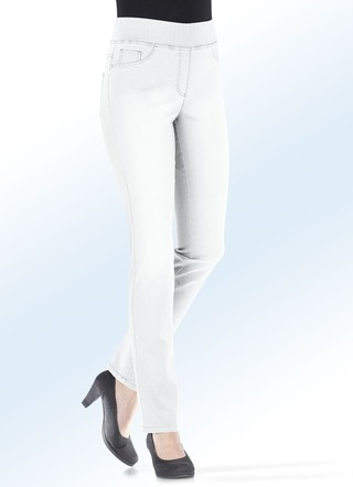 Figurformende Jeans in 5 Farben