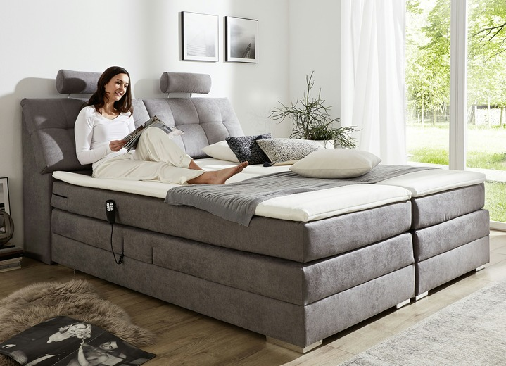 motor boxspringbett in verschiedenen ausf hrungen betten bader. Black Bedroom Furniture Sets. Home Design Ideas