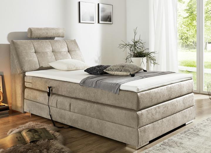motor boxspringbett in verschiedenen ausf hrungen betten bader. Black Bedroom Furniture Sets. Home Design Ideas