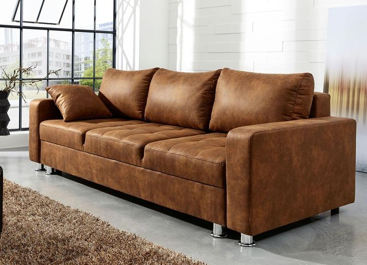 Sofa Mit Bettfunktion In Verschiedenen Farben Polstermobel Bader