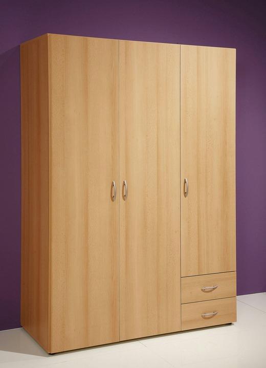 kleiderschrank verschiedene ausf rhungen schr nke bader. Black Bedroom Furniture Sets. Home Design Ideas