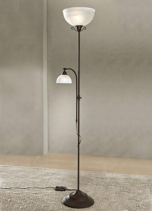 deckenfluter leselampe lampen leuchten lampjes bader rost farbe uebersicht zurueck startseite zur wohnen hachenburg brigitte