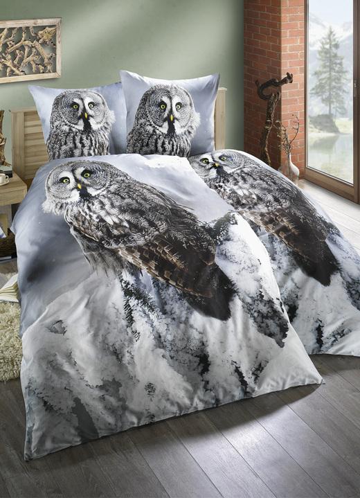 bettw sche garnitur eule bettw sche bader. Black Bedroom Furniture Sets. Home Design Ideas