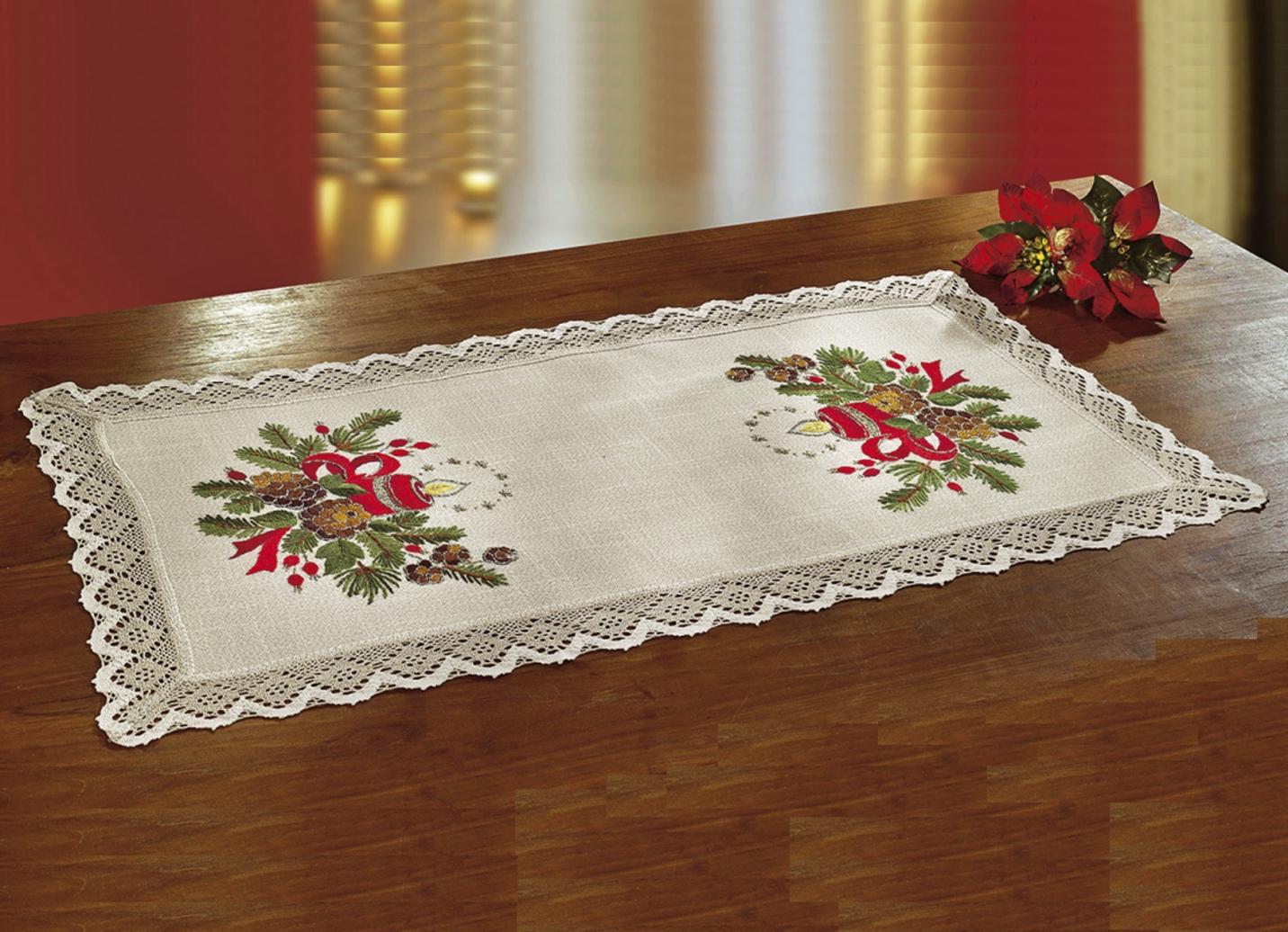 tisch und raumdekoration in 2 ausf hrungen weihnachten. Black Bedroom Furniture Sets. Home Design Ideas