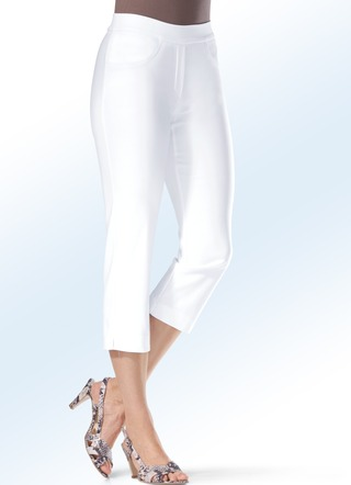 Soft-Stretch-Caprihose in 7 Farben