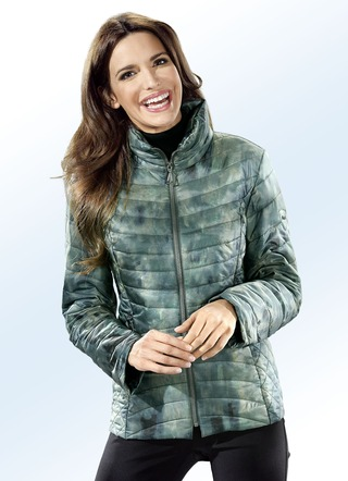 Kurzjacke in angesagter Batik-Optik