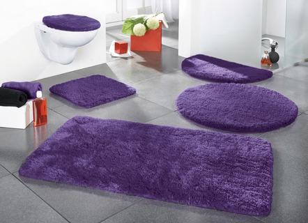 Badematten Lila badteppiche und badematten kaufen bader