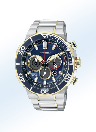"""Citizen""-Solar-Chronograph"